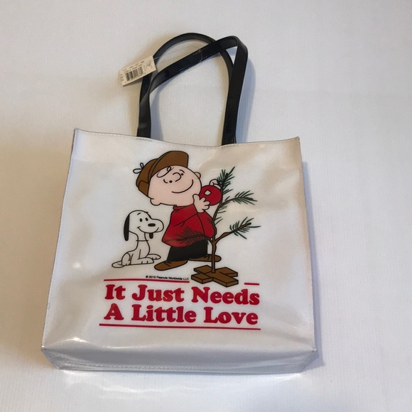 """Handbags - Charlie Brown tote 🆕 12""""H x 12.5W wflaw on 1 side"""